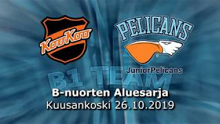 La 26.10.2019 KooKoo Team - Pelicans B1 Team