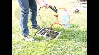 Дуж Дождик - переносной многофункциональный душ-топтун
