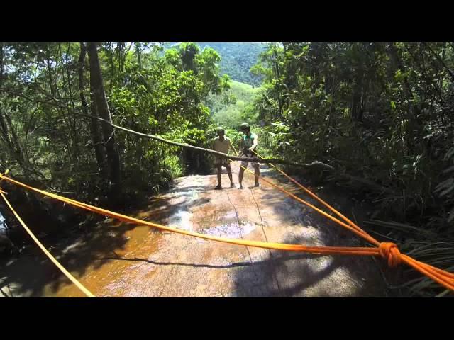 Rapel Cachoeira do Sábia - Goiabal - Coroaci - MG Vídeos De Viagens