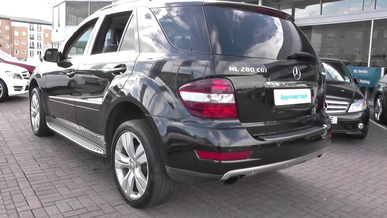 mercedes benz ml 280 cdi sport auto u39596 youtube. Black Bedroom Furniture Sets. Home Design Ideas