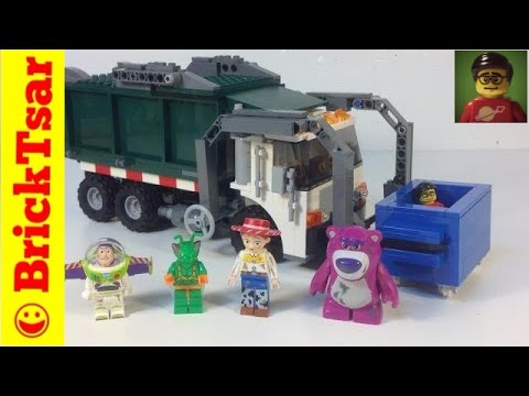 Lego Toy Story 3 Set 7599 Garbage Truck Getwaway Review Youtube