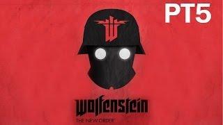 Wolfenstein: The New Order Walkthrough - PT5 - The Asylum