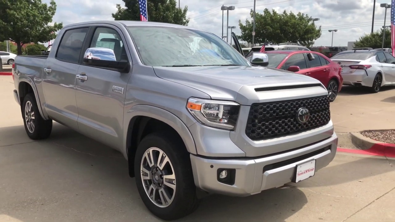 Toyota Tundra Platinum >> 2020 Toyota Tundra Platinum Crewmax In Silver Sky Metallic Walkaround With Duane May