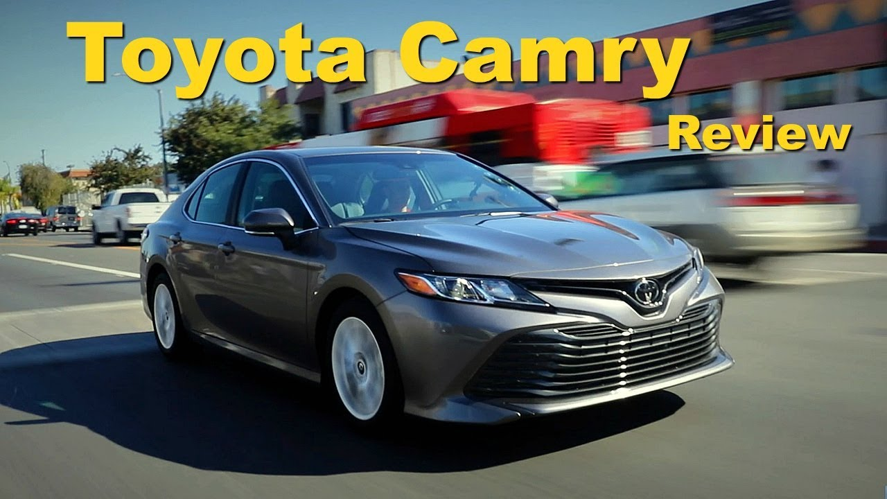 2018 toyota camry review and road test youtube. Black Bedroom Furniture Sets. Home Design Ideas