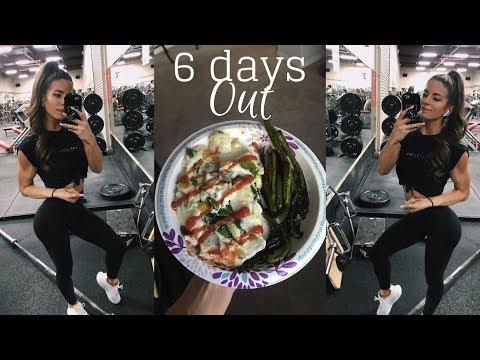 Pro Debut - 6 DAYS OUT | Leg Workout & FDOE
