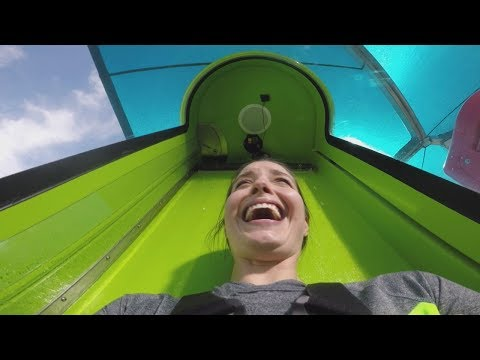 New Adventure Island water slide kicks off with 70-foot drop