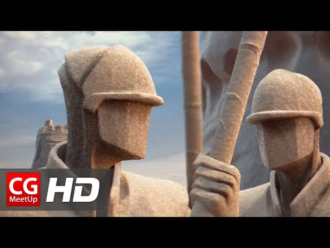 "CGI Animated Short Film HD ""Chateau de Sable (Sand Castle) "" by ESMA 