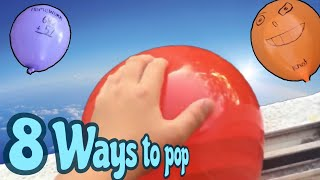 8 Ways To Pop A Water Balloon