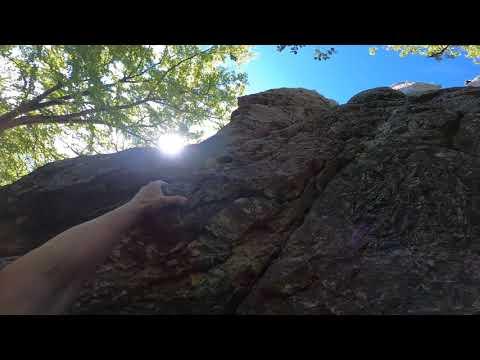 Klettern am Gelben