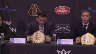 WSOFNYC Official Press Conference From Madison Square Garden