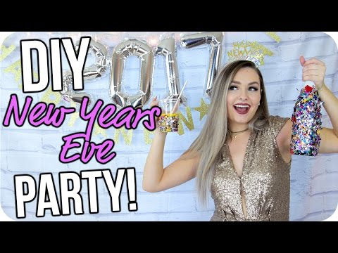 DIY New Years Eve Party on a Budget!