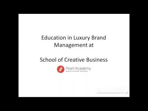 Webinar on Careers in Luxury Brand Management