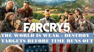 Far Cry 5 Jacob Mission: The World Is Weak Walkthrough (Part 62)