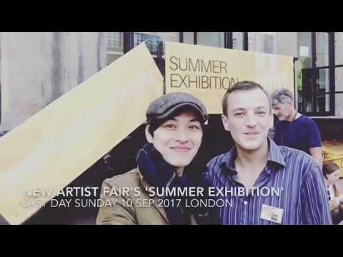 """ New Artist Fair's 'Summer Exhibition' "" 2017 London - Hsi Chun Huang"
