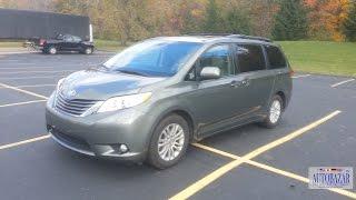 Страховой аукцион IAA. Инспекция 2011 Toyota Sienna XLE. Покупка битых авто. Авто из США.