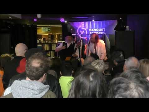 John Otway And Wild Willy Barret At Banquet Records On Record Store Day