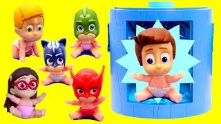 PJ MASKS Toys Transform into BABIES with Disney  PJ Masks Surprises
