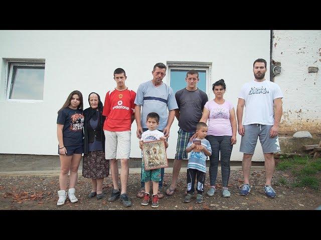 Dogradnja kuće porodici Aleksić iz sela Tijovac - Srbi za Srbe