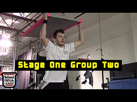 Stage One Group Two (feat. Perry Oosterlee) - National Ninja League Finals