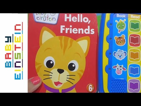 Baby Einstein Me Reader Jr. Hello, Friends Libro Electrónico