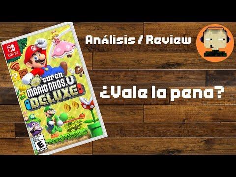Análisis / Review de New Super Mario Bros U Deluxe