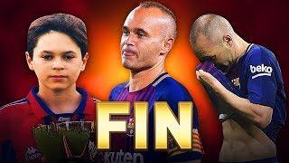 10 MOMENTS INOUBLIABLES DE INIESTA AU BARCA ! #FIN
