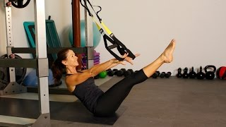 TRX Pilates Inspired Core Workout - for Rock Hard Abs