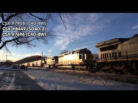 ~1st Train Video of 2013~ Mohawk Subdivision Day Trip (1/5/2013)