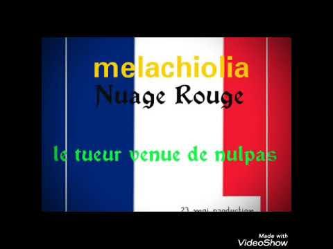 Nuage Rouge Melachiolia (image officiel)