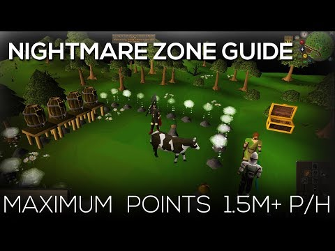 OSRS | Nightmare Zone - Maximum Points 1.5M+ P/H