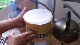 Review - Instant non-fat milk vs Nido powdered whole milk