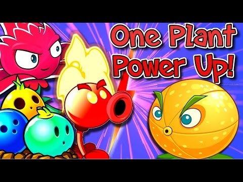 Plants vs. Zombies 2 Gameplay One Plant Power Up Vs Zombies Modern Day.