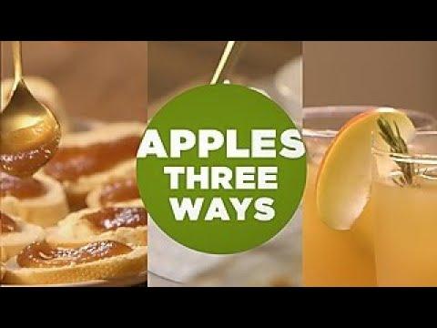 Apples Three Ways Diy Network