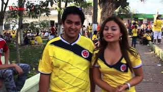 Santander de Quilichao Celebrando 2do triunfo de la Selección Colombia en el Mundial