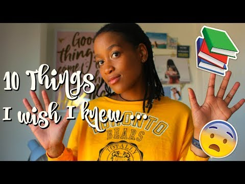 10 THINGS I WISH I KNEW BEFORE UNIVERSITY | BLOG ANNOUNCEMENT| UCT