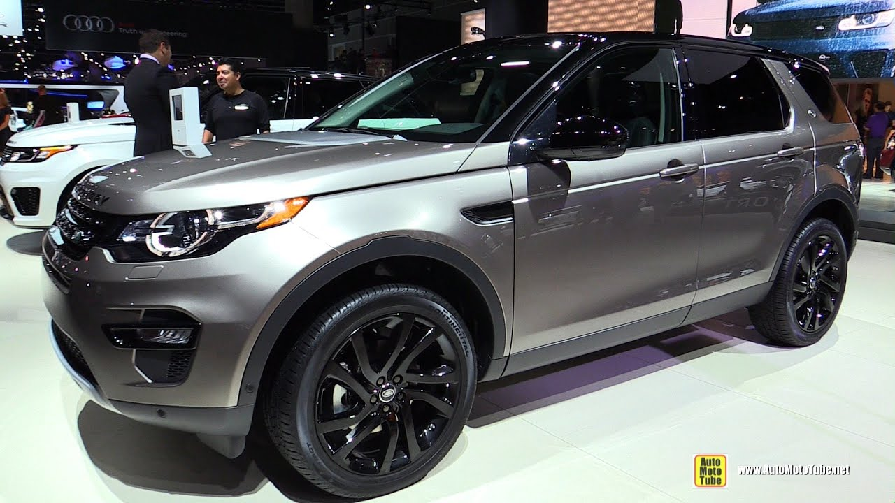 2015 land rover discovery sport hse luxury exterior walkaround 2014 la auto show youtube. Black Bedroom Furniture Sets. Home Design Ideas
