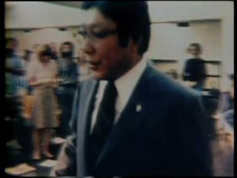 Chogyam Trungpa & Allen Ginsberg, 1978