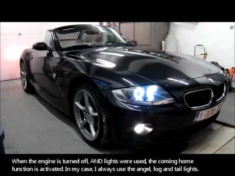 Bmw Z4 E85 Xcar Style Comfort Light Module And Gaptech