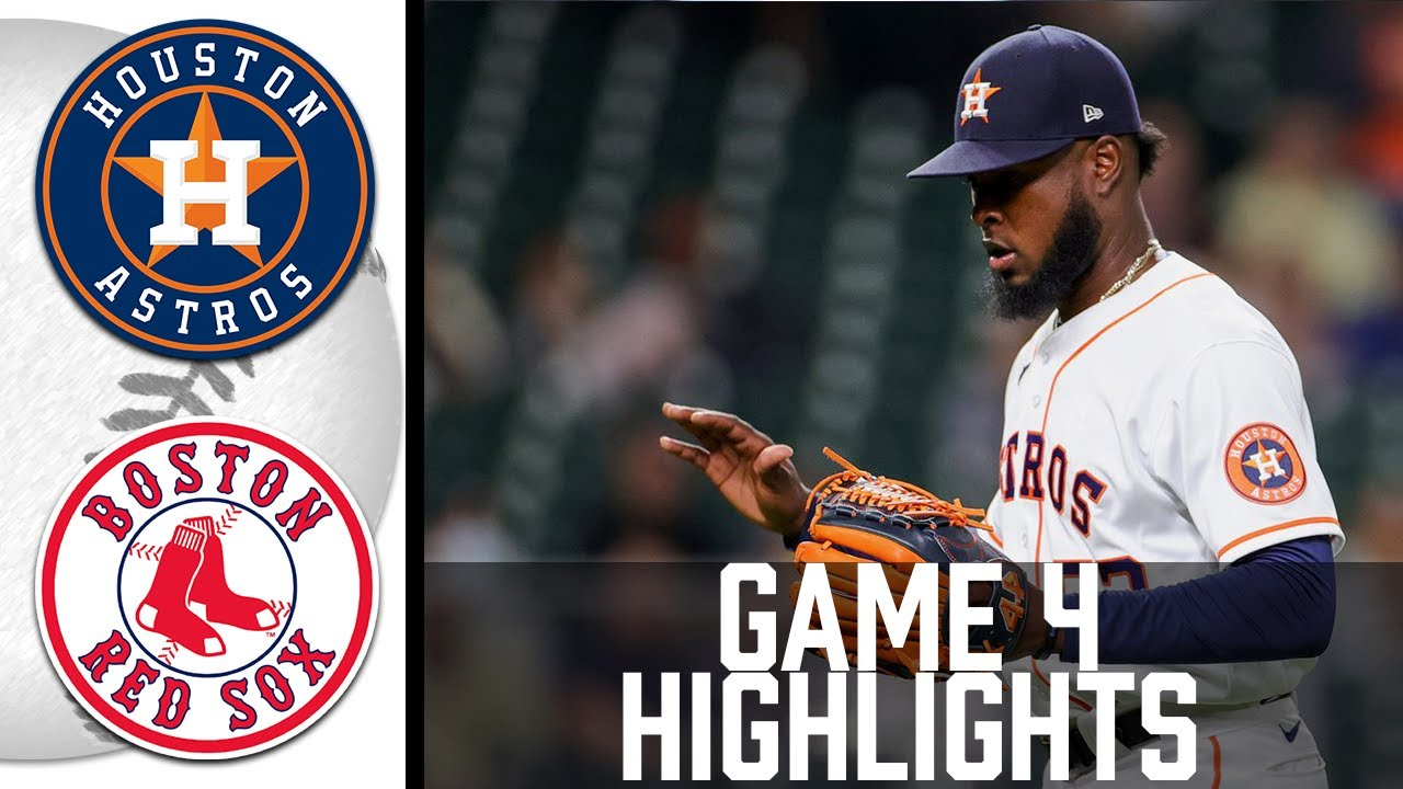 Download Astros vs Red Sox Game 4 Highlights   MLB 2021