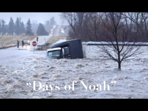 """Days of Noah"" scenario unfolding in Nebraska - EPIC flooding, Evacuations and MUCH more!"