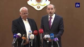 اتفاق أردني فلسطيني على مواجهة انتهاكات الاحتلال على الساحة الدولية - (12/12/2019)