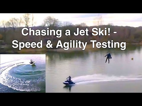 Gravity Industries - Speed & Agility Jet Suit Lake Testing