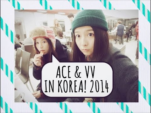 Vv and Ace in Korea! Ep. 1 (Vlog)