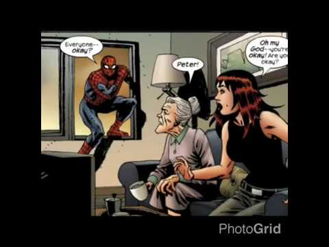 Marvel Zombies : Spider-Man effect Aunt May,May Jane, and Daredevil