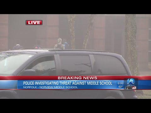 Police: Threat toward Norview Middle posted to social media
