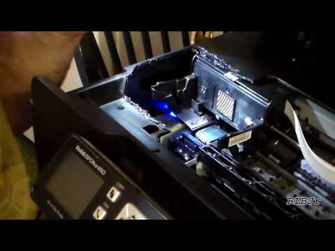 Fixed! Kodak ESP 9 Printer Carriage Jam (via a Mysterious `Paper Jam