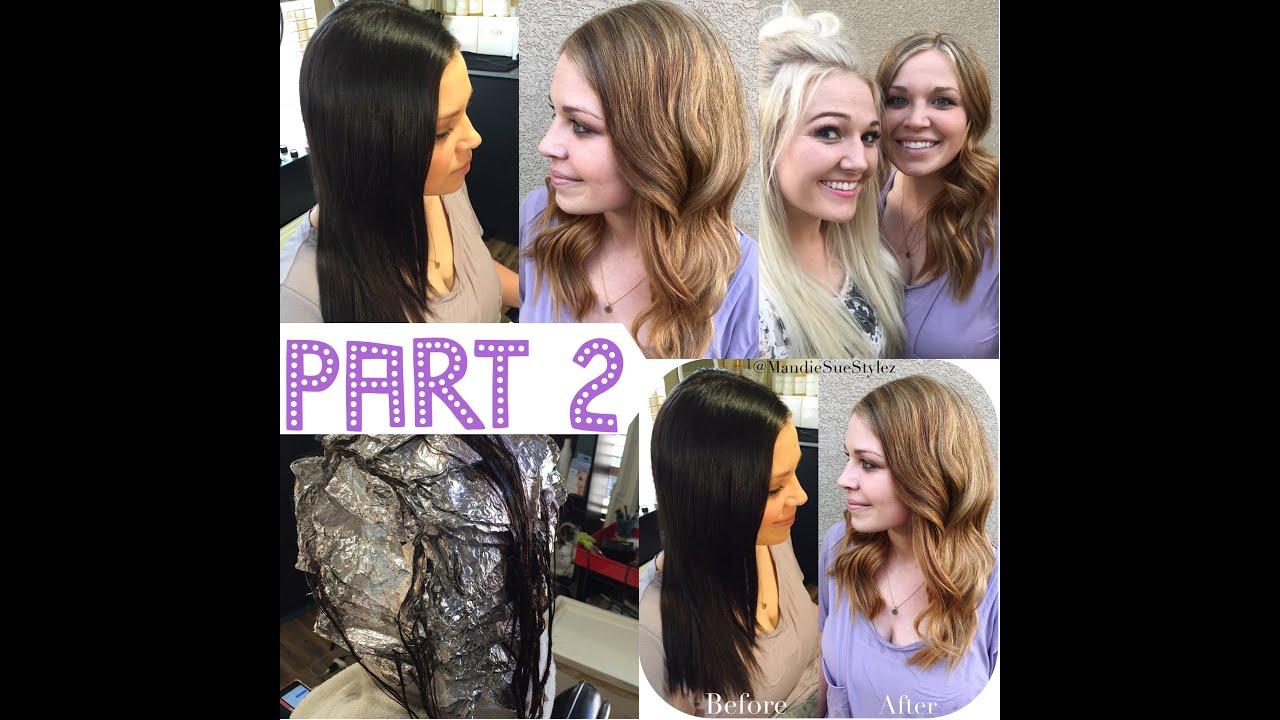 Brunettes Going Blonde 17