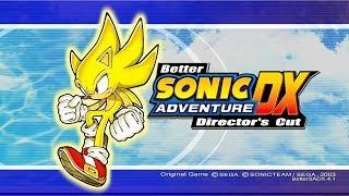 Finishing up Sonic Adventure DX!