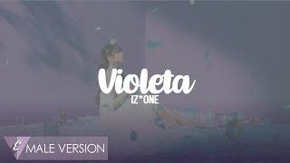 MALE VERSION | IZ*ONE  - Violeta