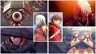 Scarlet Nexus - All Bosses, ENDING, Credits & Epilogue (Yuito & Kasane)